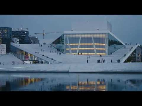 CATHEDRALS OF CULTURE - Clip MARGRETH OLIN: Opera House -- Oslo, Norway - HD