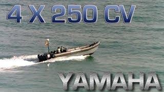 Rib 4 X Yamaha 250 cv