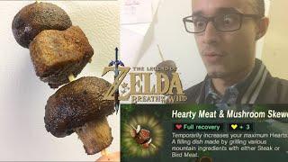 Hearty Beef and Mushroom Skewers from Zelda Month (Best Freegin' Cooking Show)