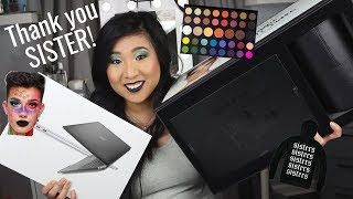 I Won The James Charles Giveaway/Giveaslay! | How I Won, Unboxing & Review