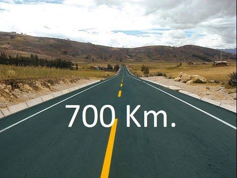 700 Km Pista