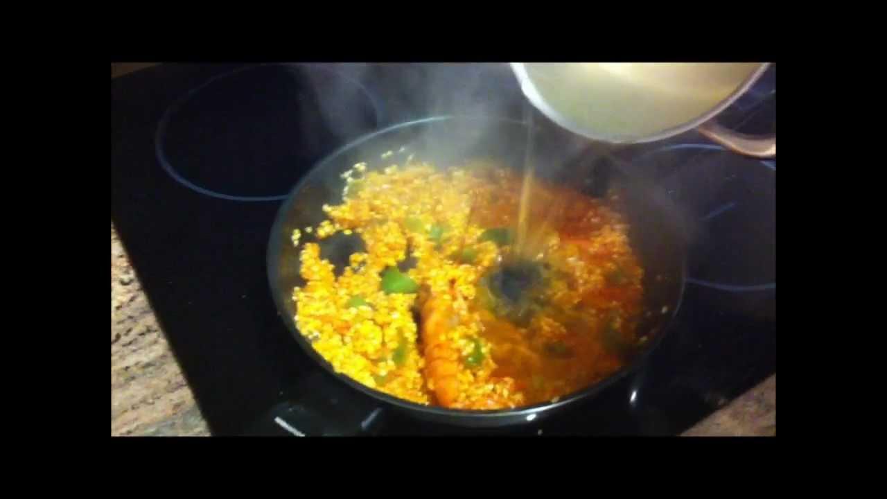 Receta de paella de arroz al estilo sofa cocina - Sofa para cocina ...