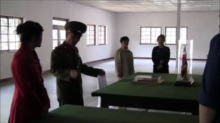 Tour of the DMZ from the North Korea side