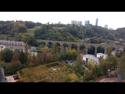 Alzette e Pétrusse Luxembourg City - Um dia em Luxemburgo