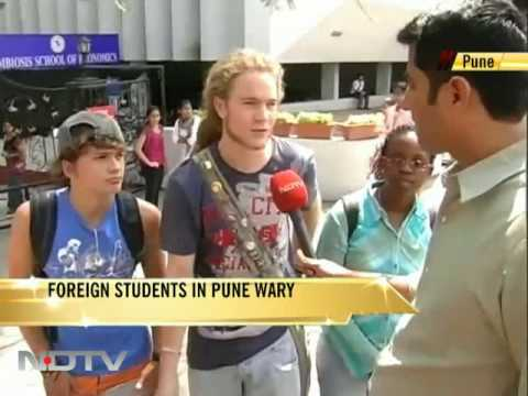 Foreign students in Pune wary after blast