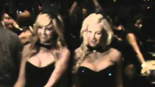 Sexy Holly Madison as a Blackjack dealer at the Palms Playboy Club Vegas