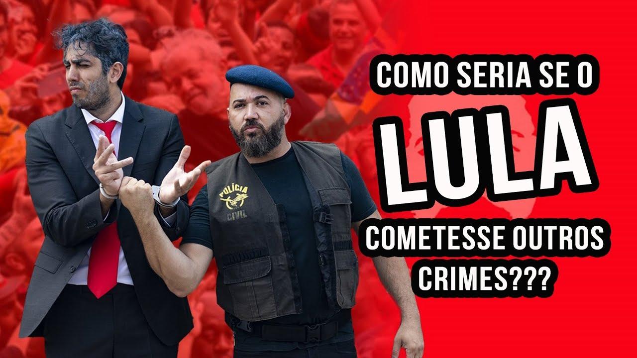 Como seria se o LULA cometesse outros crimes? Ministro Vulgar Mendes - JONATHAN NEMER