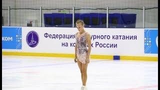 Анастасия Губанова, ПП (Anastasia Gubanova FS), Открытое Первенство Москвы 2018