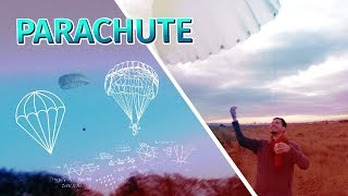 How to make a parachute | and drop it from very high with a drone