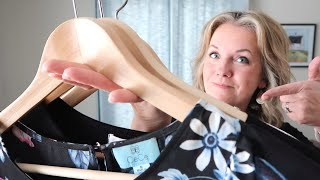 The ONE question to ask yourself to DECLUTTER CLOTHES Quickly!! (Simple Living)