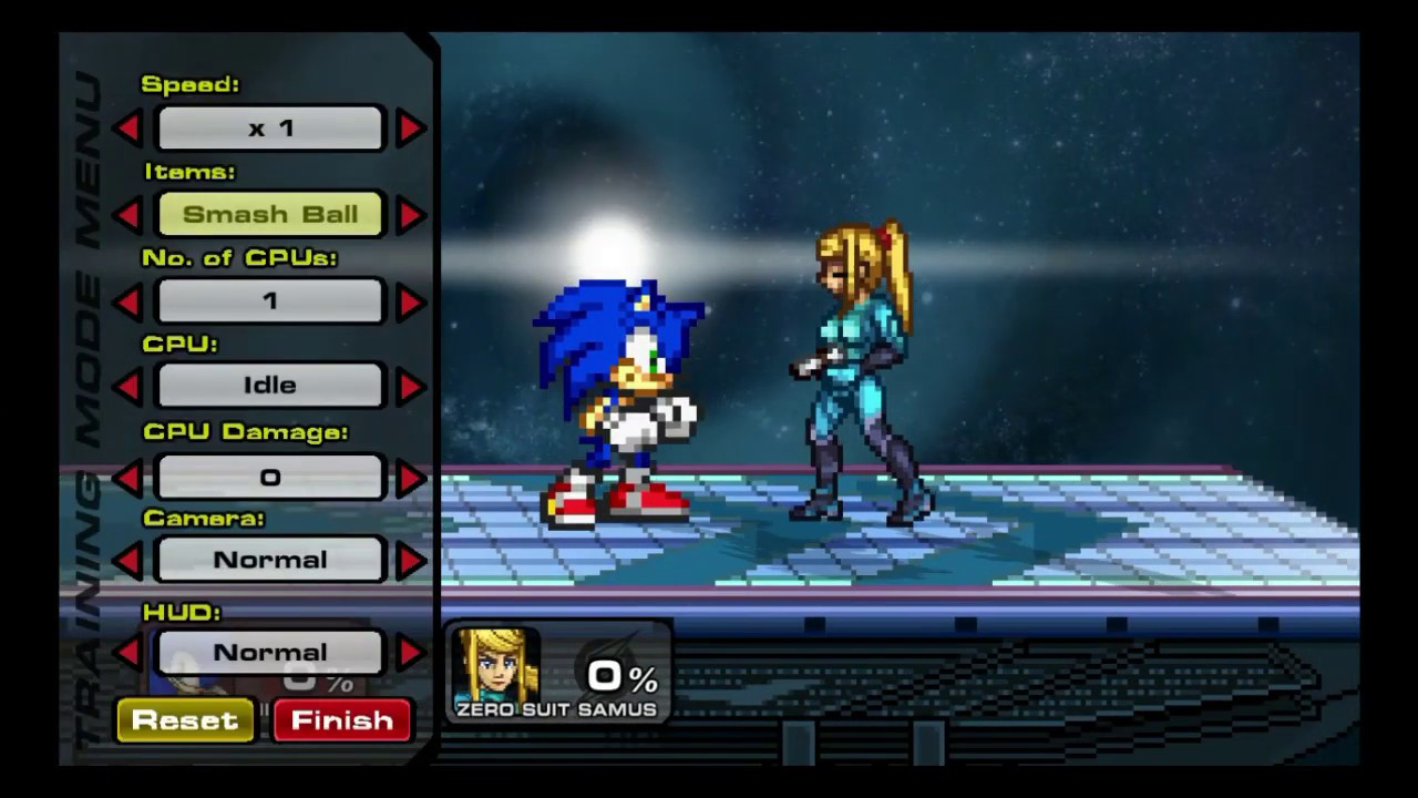 SSF2:MOD Sonic