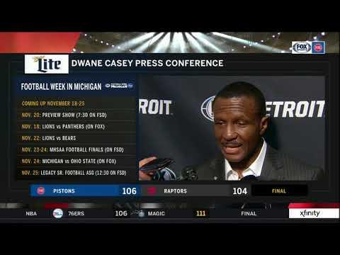 Pistons LIVE 11.14.18: Dwane Casey