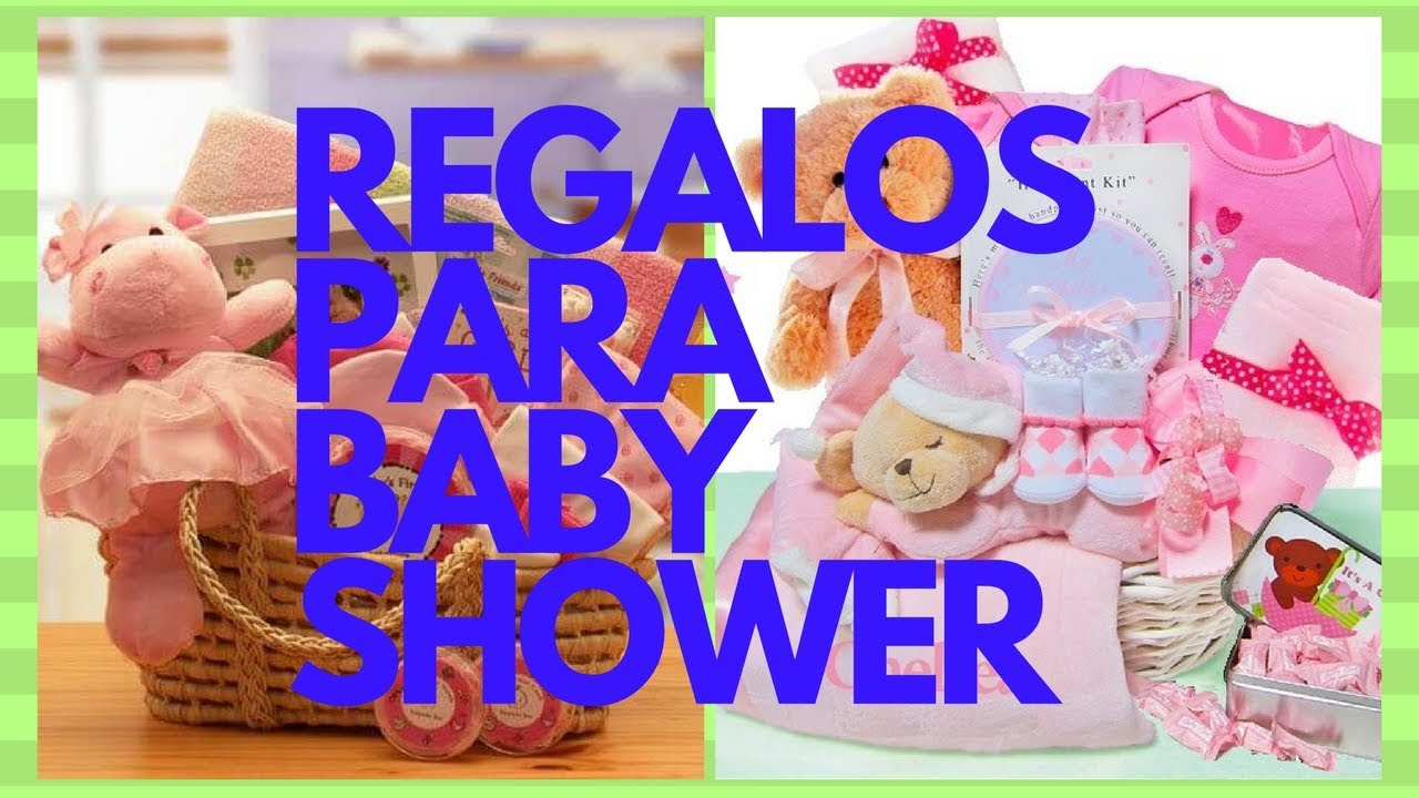 Regalos Para Baby Shower Youtube