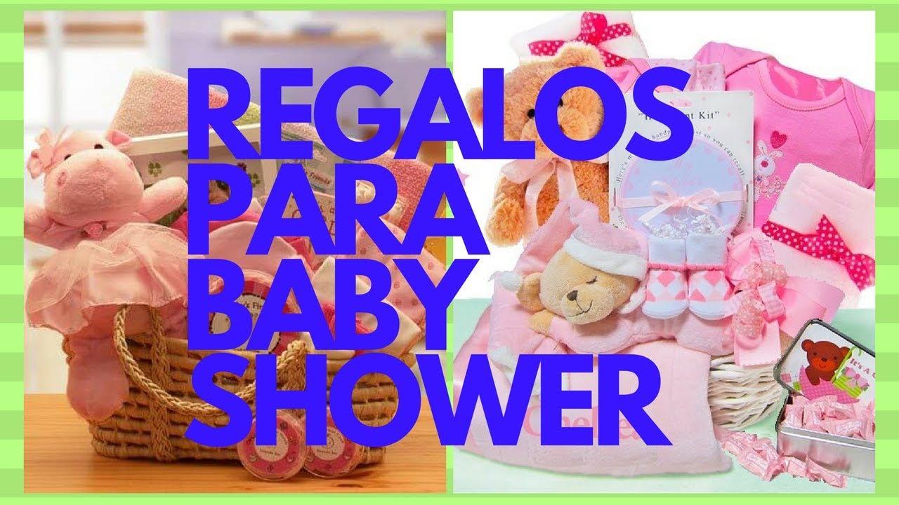 Que Regalos Pedir En Un Baby Shower.Regalos Para Baby Shower Youtube
