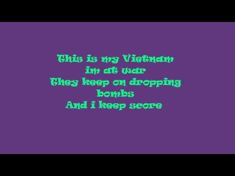 My Vietnam- P!nk  LYrics