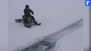 У берегов Сахалина 40 рыбаков оказались на оторвавшейся льдине