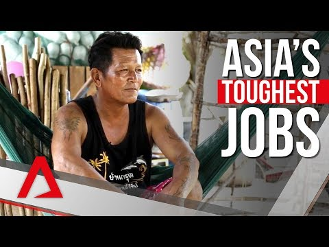 Asia's toughest jobs: The fisherman of the Andaman Sea