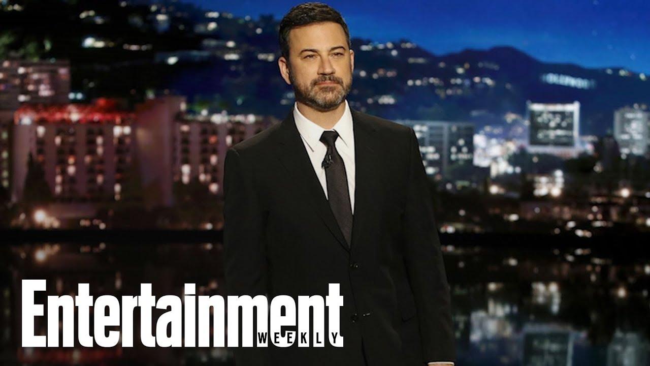 Jimmy Kimmel Fights Back Tears Addressing Florida Shooting | News Flash | Entertainment Weekly
