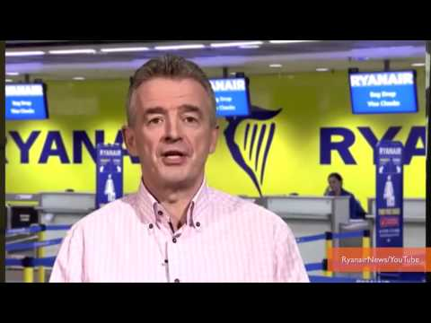 RyanAir CEO Promises $10 Flights from USA to Europe