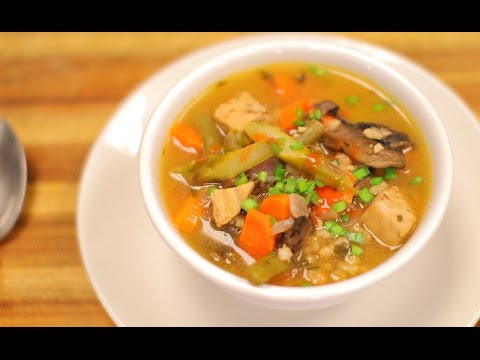 Chicken Barley Soup – healthy recipe channel- healthy recipes – soup recipe – dinner recipes