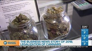 Legalization of cannabis is the business news story of 2018