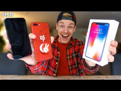 iPhone X Unboxing!!! - ENZOKNOL VLOG #1551