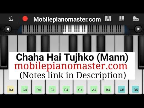 Chaha Hai Tujhko Piano Tutorial|Piano Keyboard|Piano Lessons|Piano Music|learn piano Online|Piano