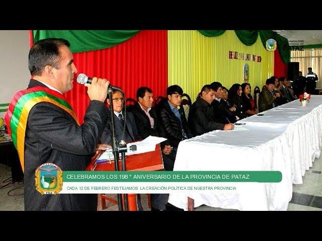 198 ° Aniversario de la Provincia de Pataz