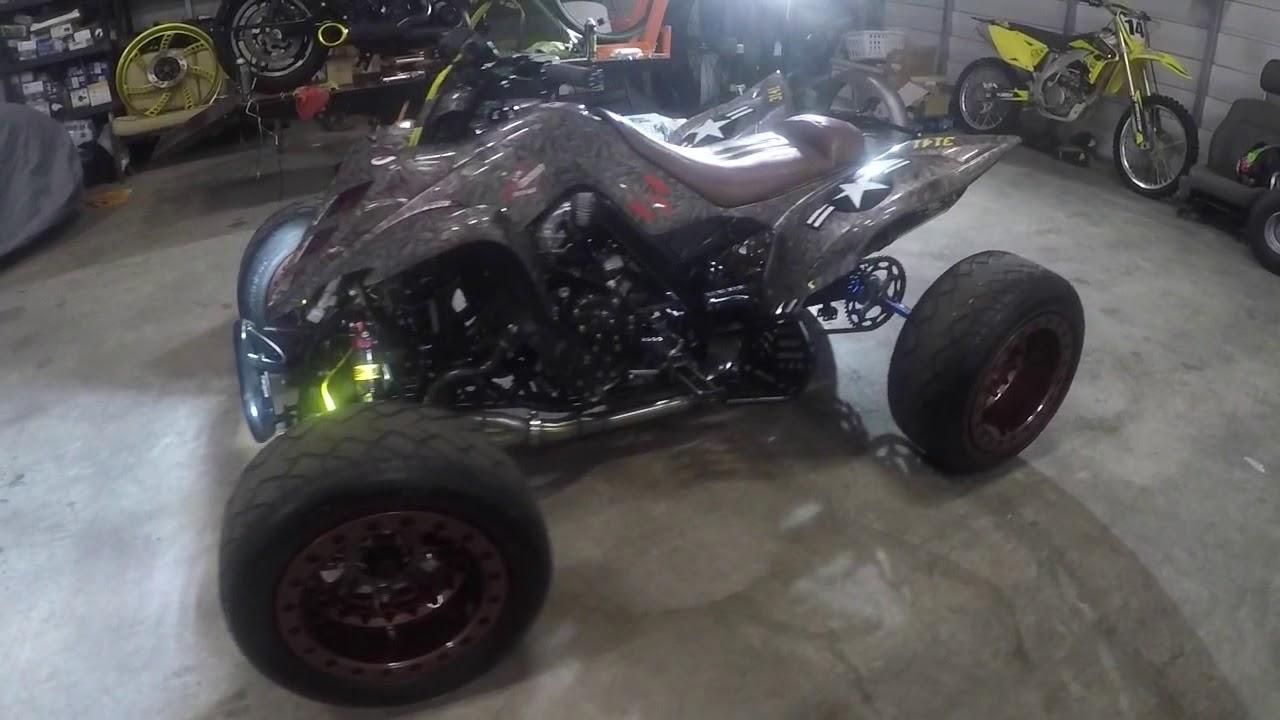 2017 Raptor For Sale >> Custom street legal Quad for sale 1000cc r1 engine - YouTube