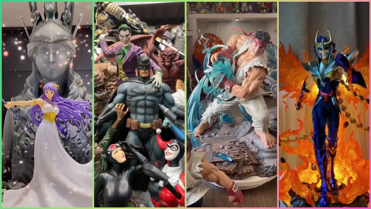 Unboxing Athena • Batman Sanity • Ryu Street Fighter V • Phoenix Ikki Statues