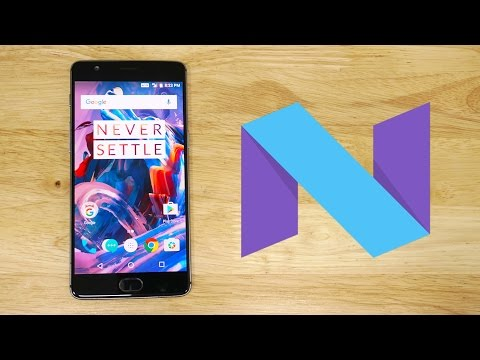 OnePlus 3 - Nougat based OxygenOS Open Beta - Quick Look