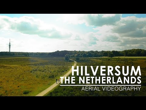 Second time flying above Hilversum, The Netherlands | Aerial Videography [4K, 30fps]