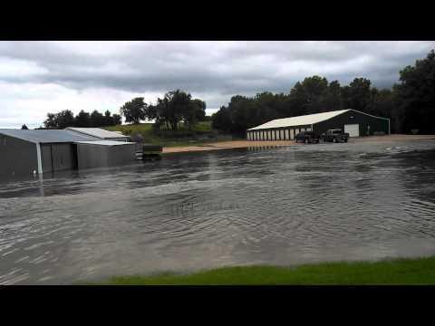 Marion KS CC flooding 7/29/13