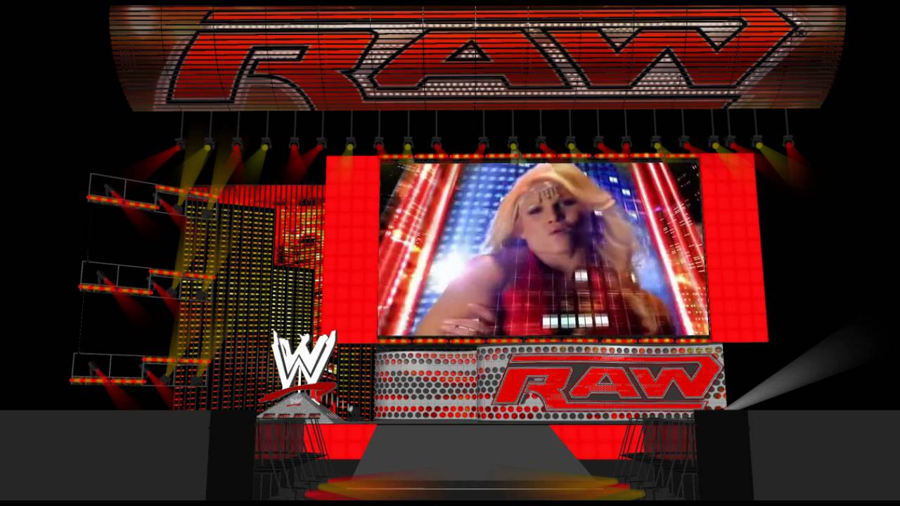 Mwtv1 wwe monday night raw 2009 stage w intro youtube - Monday night raw images ...