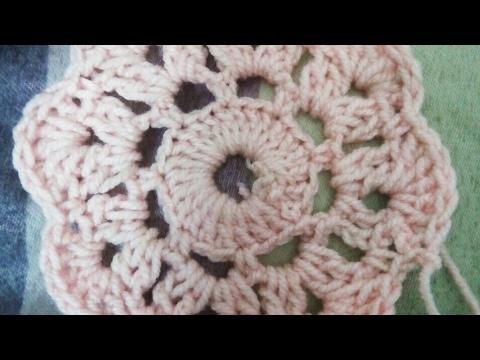Crochet Flower Maybelle Flower Youtube
