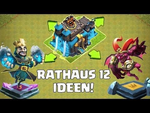 RATHAUS 12 - Das sind die besten Ideen! || Clash of Clans || Let's Play CoC [Deutsch German]