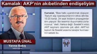 Mustafa Ünal - Kamalak: AKP'nin akıbetinden endişeliyim