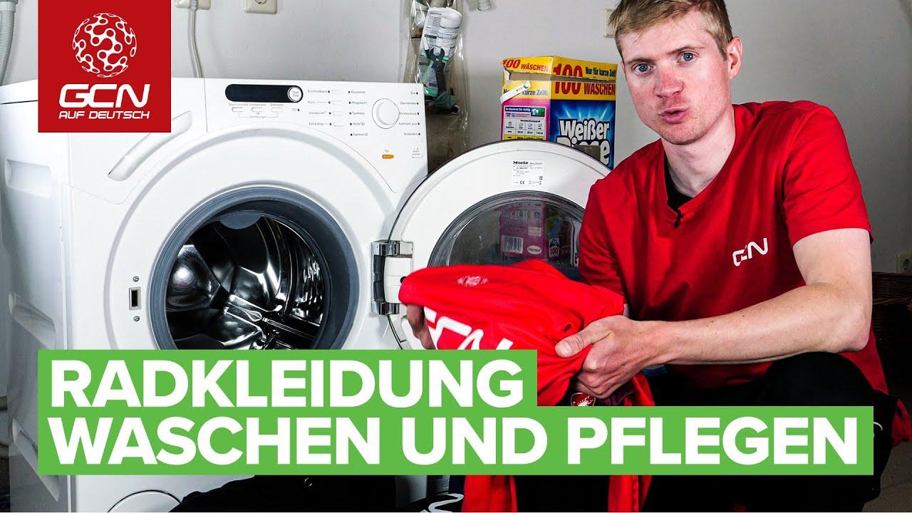 Wie man seine Radklamotten korrekt wäscht   Radwäsche richtig waschen