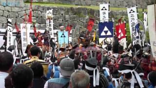 小田原市最大のイベント、小田原北條五大祭りの武者行列の様子です。5...