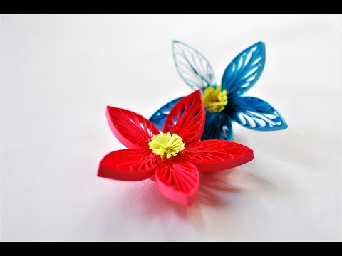 How To Make 3D Quilling Flower