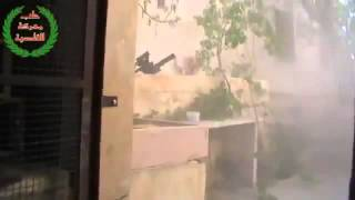Syria terrorists under heavy fire Part1 25 07 2013