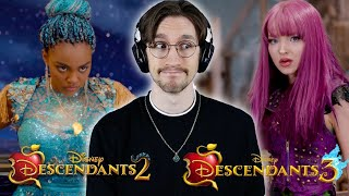 *Disney Descendants 2 and 3* - one GOOD, one BAD