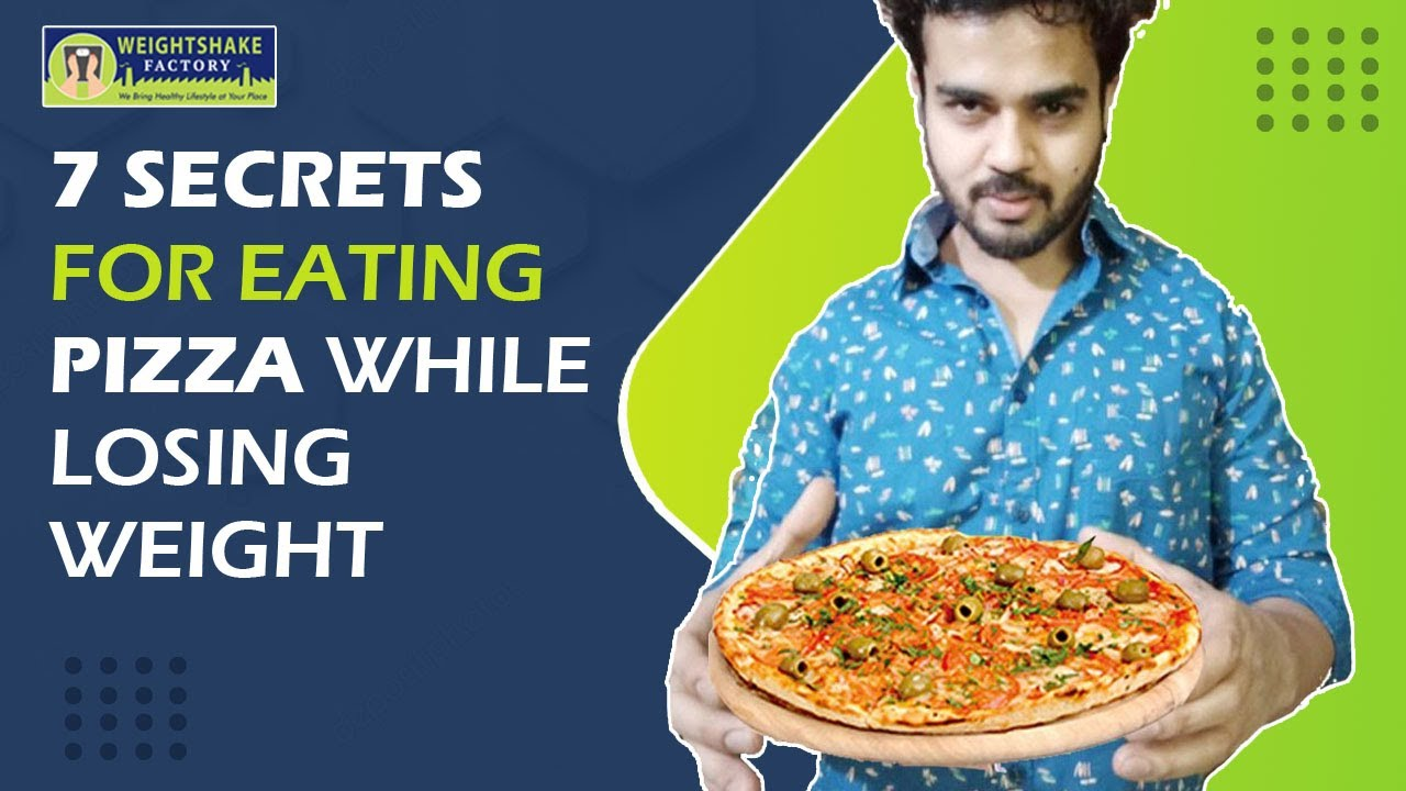 can you lose weight and eat pizza