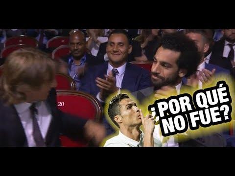Luka Modric mejor jugador de la UEFA – por qué Cristiano Ronaldo no ASISTIÓ