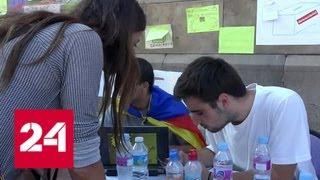 Настоящая война с бюллетенями развернулась в Каталонии - Россия 24
