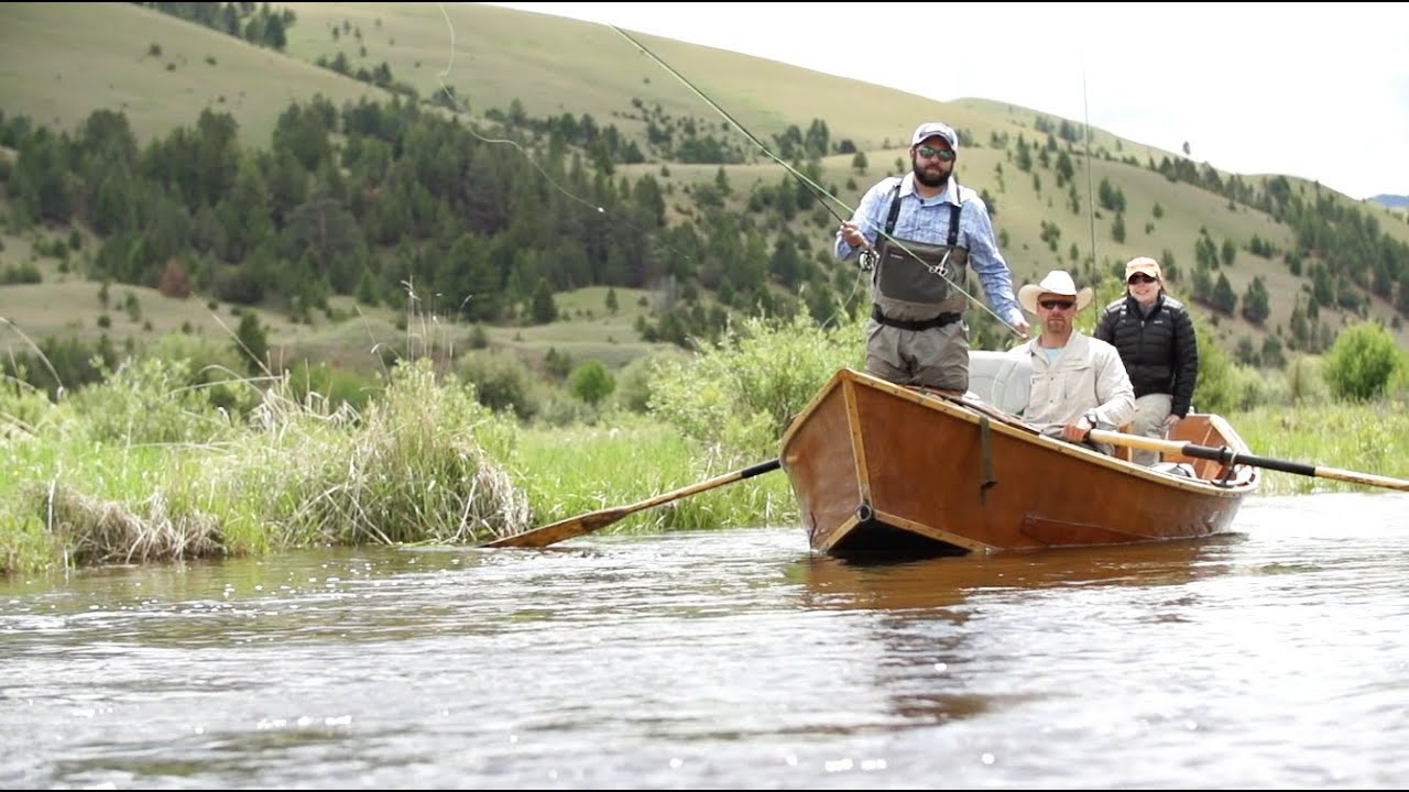 Field stream behind the tradition montana fly for Fishing in montana