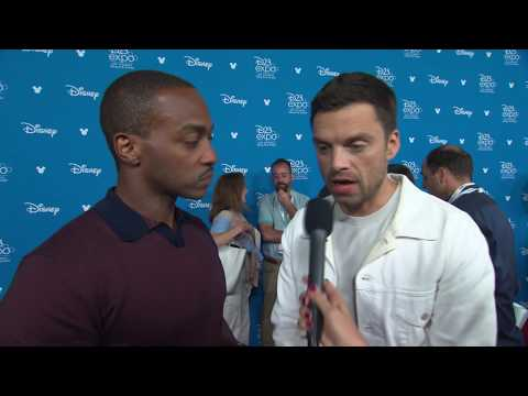D23 Expo 2019: Disney+ Press Carpet (Marvel Studios, The Falcon & Winter Soldier)