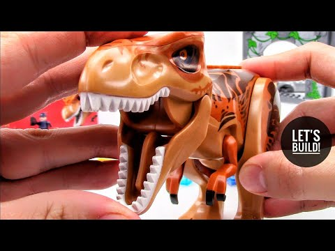 LEGO Jurassic World: T. rex Breakout 10758 - Let's Build!