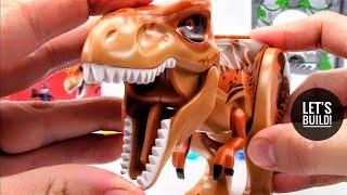Лего Світ Юрського періоду: Тиранозавр Рекс прорив 10758 - Давайте будувати!