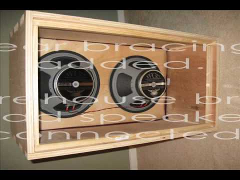 DIY Building a 2x12 Guitar Speaker Cab - YouTube